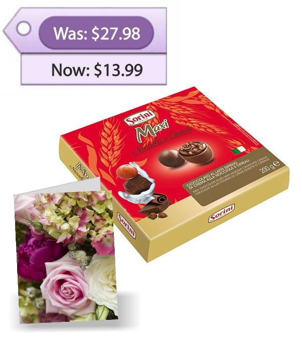 Large Chocolates & Card