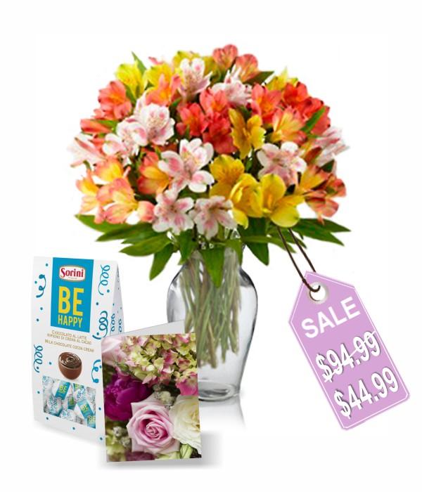 50 fleurs d'alstroémère II