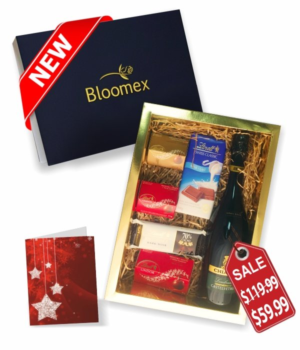 Lindt & Bubbly Gift Box
