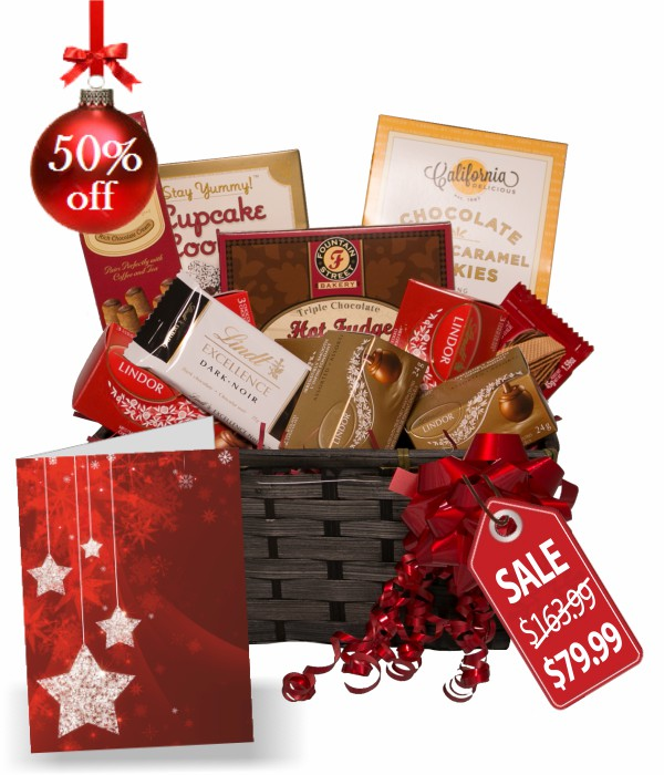 Lindt Gift Basket Collection III