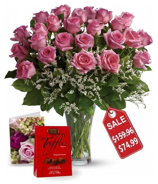 Deux douzaines de roses Fête des Mères II