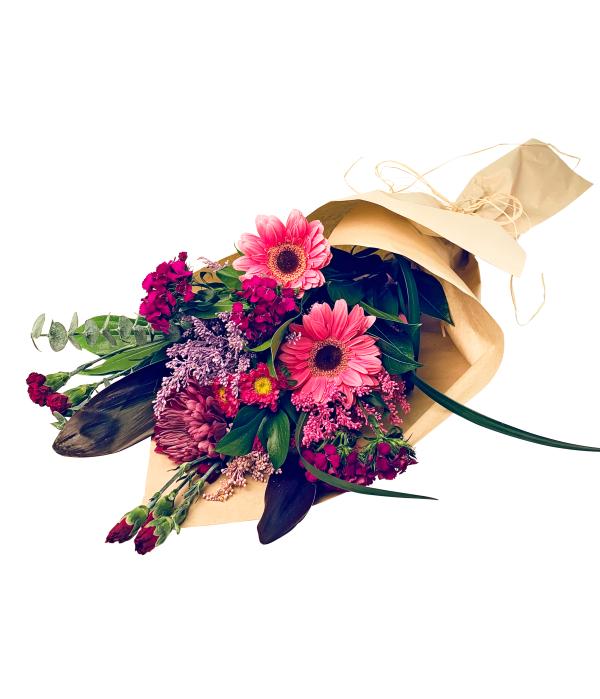 poignée de fleurs collection rose violacé I