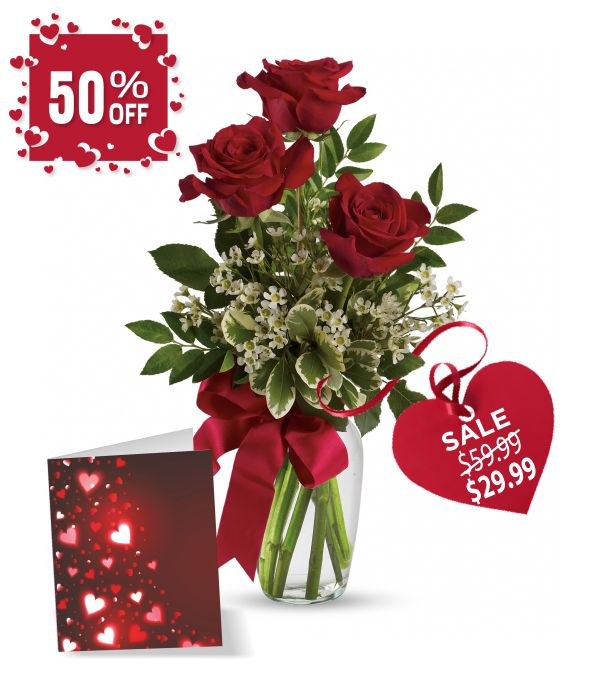 Rose & Card Special