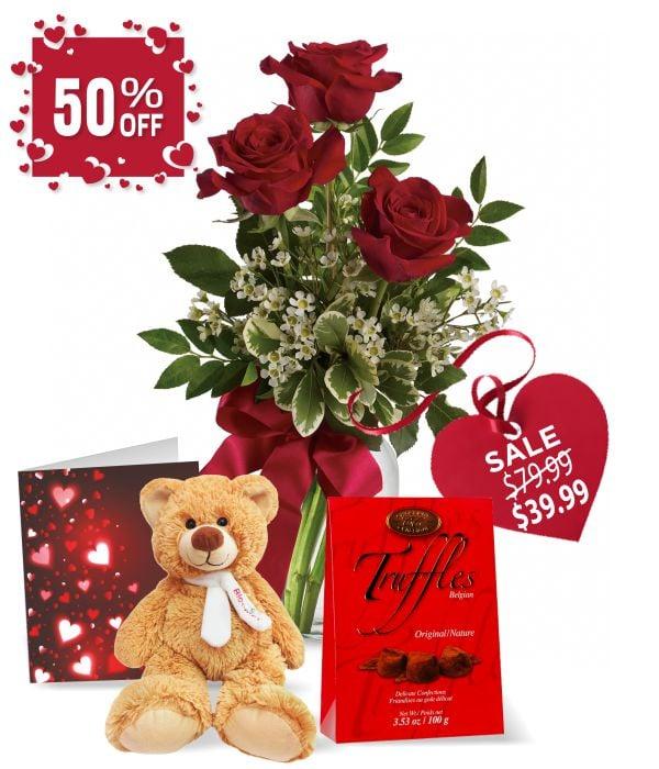 Rose, Teddy & Truffles Special