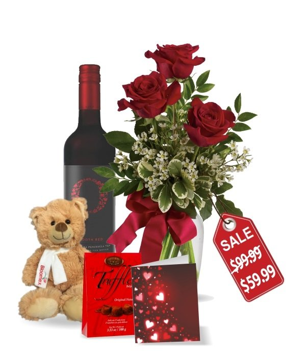 Roses & Wine Collection I