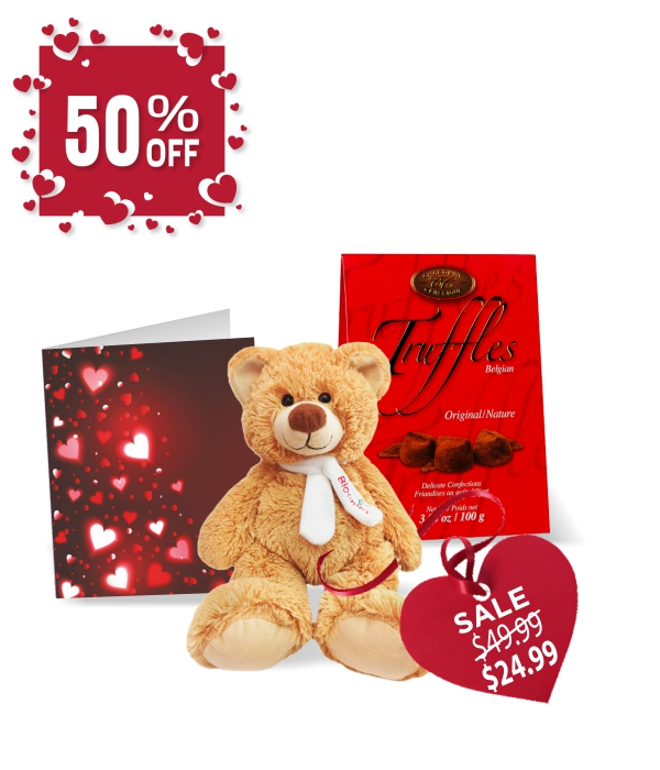 Truffles, Teddy & Card