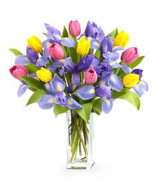 Tulips & Iris Bouquet