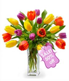 Twenty Tulip Bouquet