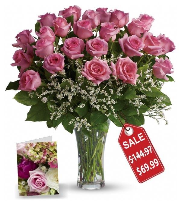 Deux douzaines de roses Fête des Mères I