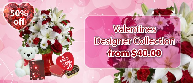 Valentines 1/2$ Designer Collection