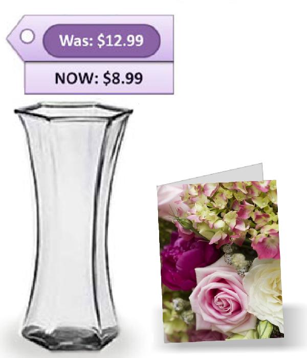 Vase & Card