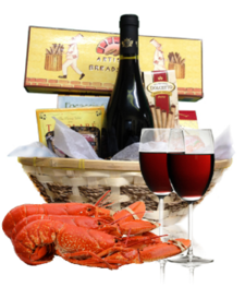 Wine & Lobster Basket