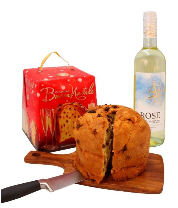 Christmas Panettone & White Wine