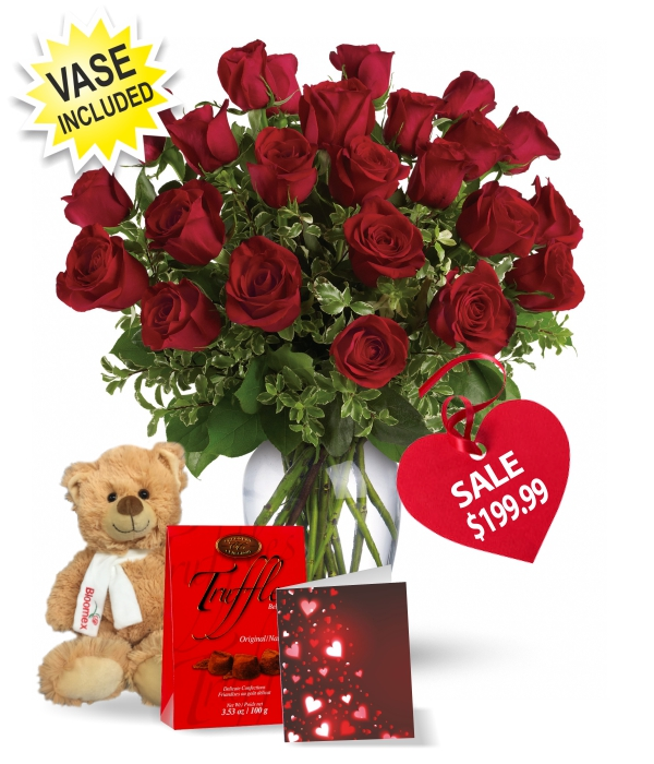 Two Dozen Red Rose Combo Special