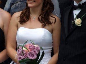 Amanda's wedding - bridal bouquet