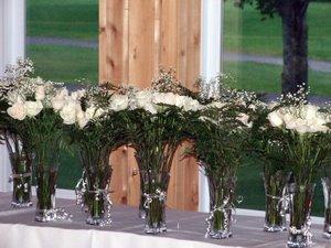 Rhonda's wedding centerpieces