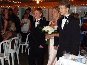 Rhonda's wedding