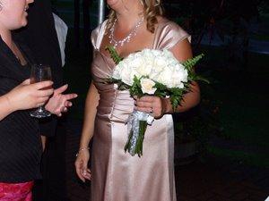 Rhonda's wedding - the bridal bouquet